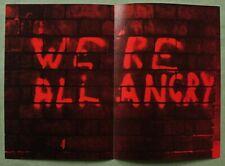 Gilbert & George 1977: We're All Angry;  original ltd. ed. print;  800 copies