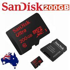 Micro SD Card Sandisk 200GB SDXC Class 10 Extreme Phone Camera Memory Samsung