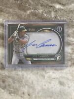 2020 Topps Tribute Autograph Auto Green #TAJC Jose Canseco #'d 1/99. Beauty.