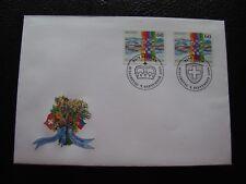 LIECHTENSTEIN/SUISSE - enveloppe 1er jour 5/9/1995 (B15)