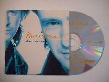 MARLONE : SI TU T'EN VAS ♦ CD SINGLE PORT GRATUIT ♦