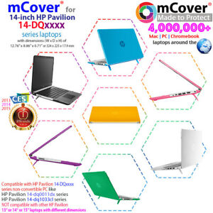 """NEW mCover® Hard Shell Case for 14"""" HP Pavilion 14-DQxxxx series Windows laptop"""