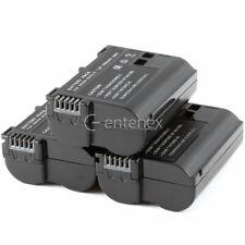 3 Pack Set - Decoded Battery for Nikon EN-EL15 D7000 D800E D800 Nikon D610 NEW