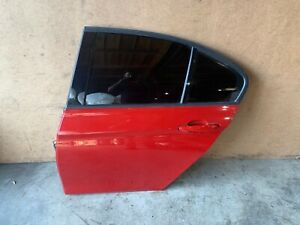 BMW F30 F31 REAR LEFT DRIVER SIDE DOOR SHELL COMPLETE RED MELBOURNEROT 88MK