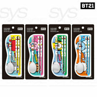 BTS BT21 Official Authentic Goods Cutlery Case SET By YUYU + Tracking Number