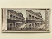Napoli Italia Museo Nazionale Fotografia Stereo Vintage Albumina