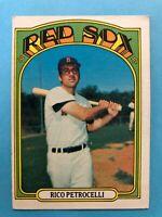 1972 Topps Baseball Card #30 Rico Petrocelli Boston Red Sox
