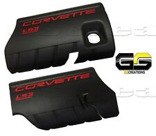 LS3 GM Corvette Engine Covers 2008-2010 Fuel Rail LS-3 6.2L Left Right