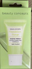 Beauty Concepts Foundation Primer Color Correcting Formula Color Green, 1 Fl Oz.