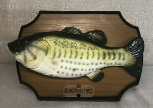Big Mouth Billy Bass Singing Fish 1999 Gemmy Industries. All Movements Work