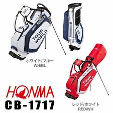 "HONMA GOLF JAPAN TOUR WORLD MEN'S 2017 NEW MODEL CADDY BAG 9x47"" 2.9 kg CB-1717"