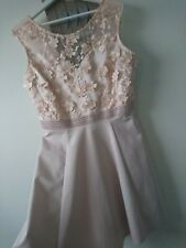 Lipsy ladies party ocassion wedding dress size UK 14 BNWOT stunning