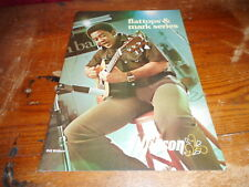 VINTAGE MUSICAL INSTRUMENT CATALOG #10015 -1976 GIBSON GUITAR - BILL WITHERS