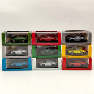 1:64 Porsche 911 GT2 RS Diecast Models Limited Edition Collection