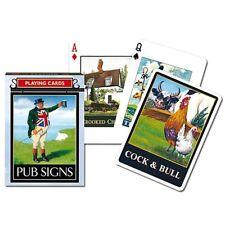 "Piatnik 1355 ""Pub Signs"" Card Game 55-Piece"