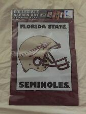 Magnolia Lane Collection Florida State Seminoles  Helmet Garden Flag