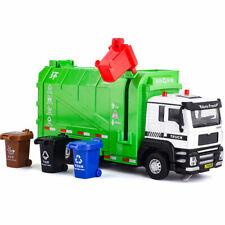 1:32 Garbage Truck Toys Model Dump Trucks Diecast Pull Back Toy Cars Kids Gift