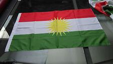 Kurdistan Flag Drapeau Kurdistan 60 X 90 cm Rojava Kobane YPG
