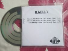 R. Kelly – Step In The Name Of Love (Remix)  Jive Records UK Promo CD Single