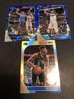 2019-20 NBA Hoops Premium Magic Lot SILVER + BLUE ICE PRIZM Fultz Bamba Isaac