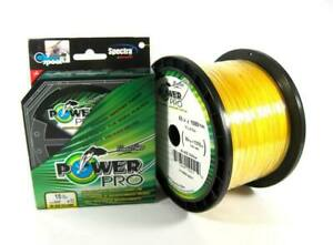 Power Pro Braided Spectra Line 8lb by 150yds Yellow (4918)