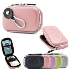 Small Compact Digital Camera Case Pouch Bag W/ Clip For Nikon COOLPIX A300/ A100