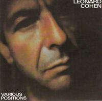 COHEN Leonard CD Various Positions