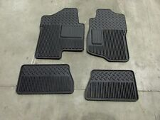 New OEM GM/Chev CREW CAB Floor Mats 4 Pc  Black  OUT OF 2013