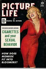 Pocket Magazine--Picture Life April 54 cover Monroe-----139
