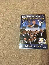 Official Film The 2014 Ryder Cup Glory At Gleneagles DVD - NEW SEALED