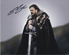 Game of Thrones Sean Bean autographed 8x10 photograph RP