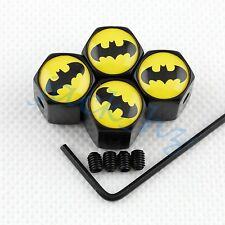 Anti-theft Wheel Tyre Tire Valve Caps Batman Trim Motors Auto Accessories Parts