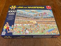 Jan Van Haasteren 1000 Piece Jigsaw Puzzle Football Crazy. Complete Superb Cond