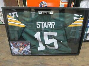 Bart Starr Green Bay Packers Signed Jersey Global Cert