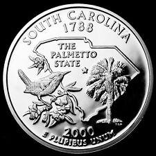 2000-S Proof South Carolina State Quarter