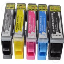 5 Remanufactured ink cartridges HP Multipack HP364 HP364XL with CHIPSET
