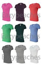 Bella Ladies NEW S-XL 2XL Short Sleeve Ladies Triblend T-Shirt Womens Tee. 8413