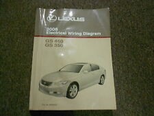 2008 Lexus GS460 GS 350 460 Electrical Wiring Diagram Shop Manual EWD NEW