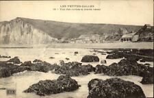 Les Petites Dalles Frankreich CPA ~1910/20 Vue des Roche à marée basse Felsküste