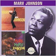 New: Johnson, Marv: Marvelous Marv Johnson / More Marvelous Marv  Audio CD