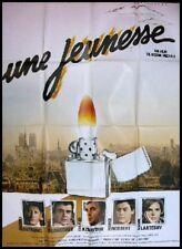 UNE JEUNESSE Affiche Ciné Movie Poster JACQUES DUTRONC