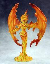 Fire Elemental Reaper Miniatures Dark Heaven Legends Monster Wings Flames RPG