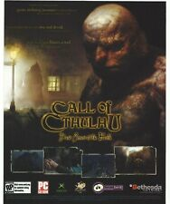 Call of Cthulhu: Dark Corners of the Earth Print Ad/Poster Art PC XBOX