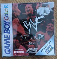 Nintendo Game Boy color Spiel - WWF Attitude, WWF, WCW, Wrestling,