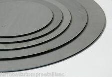 lamiera circolare in ferro decapato taglio laser spessore 3 mm diametro 400 mm