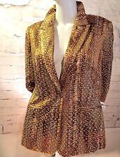 OLEG CASSINI Silk Nightsport Ladies Formal Jacket/Blazer size 8