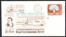 JETSTAR SPACE SHUTTLE MSBLS LANDING SYSTEM TEST FLIGHT 12-8-1976 Space Cover