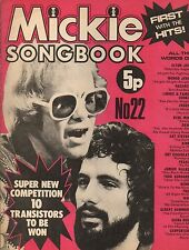 Elton John & Cat Stevens on Mickie Magazine Cover No. 22  1973    Gary Glitter