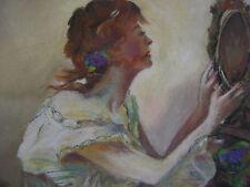 ::NUDE AKT °PASTELL JUGENDSTIL UM 1920 ART DECO PORTRAIT °BESTE QUALITÄT ANTIK