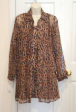 NWT frederick's of hollywood leopard Prom/party Special Ocasion Dress & Coat 5/6